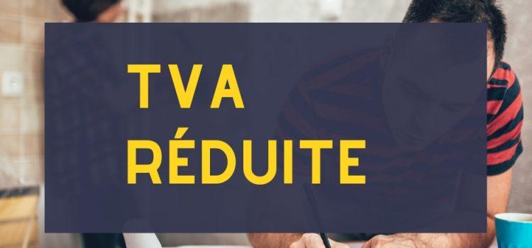 TVA réduite